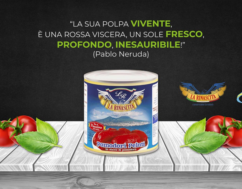 Pomodori pelati La Rinascita distribuzione